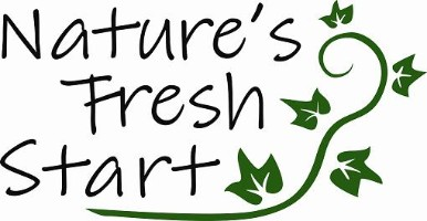 Nature's Fresh Start Logo Design by Peachy Impressions